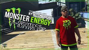 bigfoot monster truck t shirts gta v monster energy t shirt red u0026 green free download in