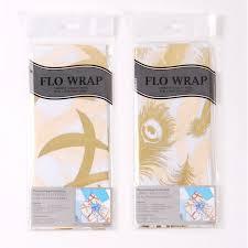 gold gift wrap flo wrap non woven gift wrap gold hot sting