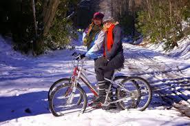 y u0027all come on in the door u0027s open snow bike ride on the virginia