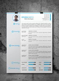 resume template for free 25 beautiful free resume templates 2018 dovethemes