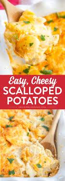 cheesy scalloped potatoes yellow bliss road