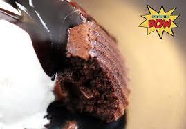 molten chocolate protein cake vegan gluten free protein pow