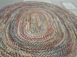 Braided Rugs Decorating Rhody Rug Solid Brilliant Red Braided Rugs For