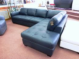 Light Blue Leather Sectional Sofa Stylish Navy Blue Upholstery Is Leather Sectional Sofa Via