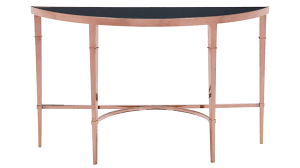 modern wooden console tables modern pascale glass console table rose gold u0026 black zuri furniture