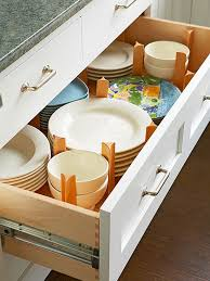 How To Organize Kitchen Cabinets Drawers Organizing And Bowls - Kitchen cabinets drawer