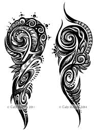 tribal swirls by trollgirl deviantart com on deviantart