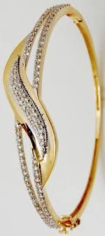 design bangle bracelet images Pave diamonds gold jewellery bangle bracelet at rs 45000 piece jpg