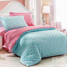 Polka Dot Bed Set Overstock Vintage Teal Polka Dots Bedding Sets Oet071499 1