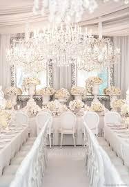 decoration de mariage et blanc une décoration de mariage tout en blanc pureté le mariage et