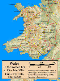 Roman Map Roman Forts In Wales Interactive Map Heritagedaily Heritage