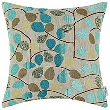 Cusion Cover Amazon Com Calitime Canvas Throw Pillow Cover Case For Couch Sofa