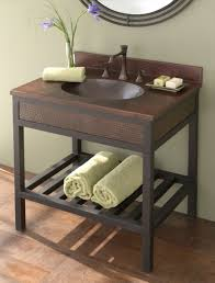 copper vessel sink vanity with classic copper vessel bathroom sink