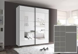 Schlafzimmerschrank Mit Aufbauservice Kleiderschrank Schwebetürenschrank Ca 200cm Inkl 9