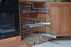 33 pull out cupboard storage pull out wire cargo basket kitchen