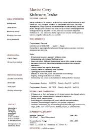 how to write resume for teaching job 11jpg recentresumescomwp