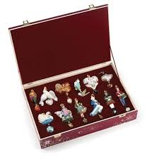 reed and barton 12 days of ornaments boxed set of 12