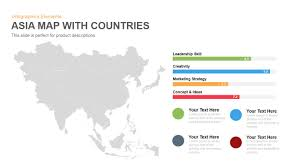 Asia Map With Countries by Asia Map With Countries Powerpoint Keynote Template Slidebazaar