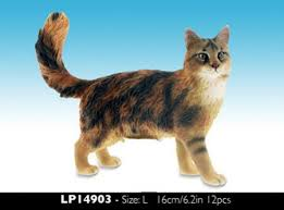 maine coon cat figurine cat ornaments maine coon cat figurine