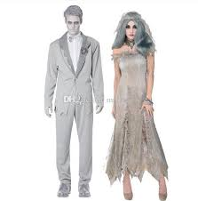Zombie Bride Groom Halloween Costumes Halloween Costumes Zombie Mens Vampire Ghost Bride Character