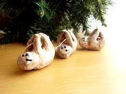 sloth ornament sloth miniature figurine polymer by possumtree