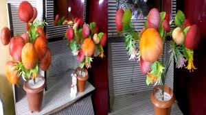 diy home decor how to make beautiful apple tree plant handmade