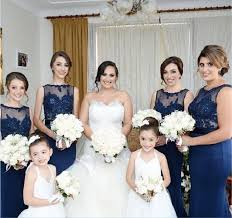 navy bridesmaid dresses mismatched navy lace mermaid bridesmaid dresses cheap custom
