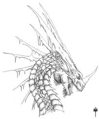 7 images of european ice dragon coloring pages cool ice dragon