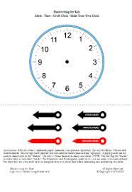 handwriting for kids mathematics clocks time telling time