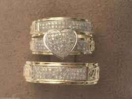 cheap wedding rings sets deluxe cheap wedding rings sets for him and