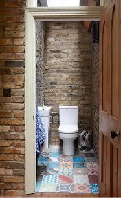 Rustic Tile Bathroom - london brick wall tile bathroom rustic with glass marble mosaic