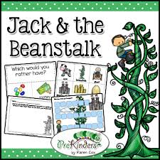 jack and the beanstalk syllable activity prekinders