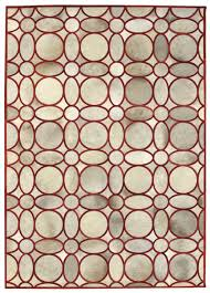 Modern Red Rug by Directory Galleries Modern Leather Area Rugs