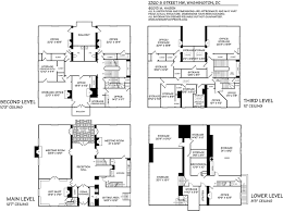 floor plans of mansions 2320 s street nw washington dc john russell pope waddy wood the