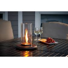 outdoor greatroom fire table outdoor greatroom intrigue table top fire pit walmart com