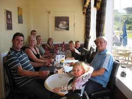family lunch in sun lounge picture of argyll arms hotel