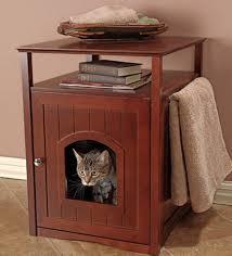 ecoflex jumbo litter loo hidden kitty litter box end table amazon com merry products nightstand pet house cat litter box cover