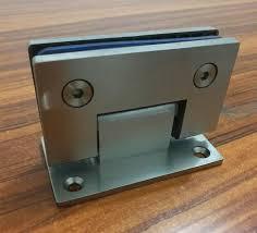 Shower Door Hinges 90 Degree Open Sus304 Stainless Steel Hinges Wall Installation