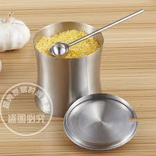 silver kitchen canisters get cheap silver kitchen canisters aliexpress