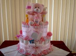 diaper cakes theme for baby shower decorating of party