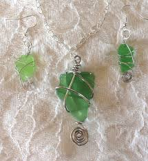 How To Make Jewelry From Sea Glass - sea glass wire wrapped jewelry workshop with joan fee from