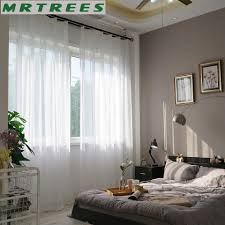 Curtains For The Kitchen Online Get Cheap Sheer Curtains Bedroom Aliexpress Com Alibaba