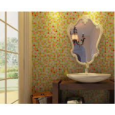 Mirrored Bathroom Wall Tiles - wholesale mosaic tile crystal glass mirror backsplash design hand