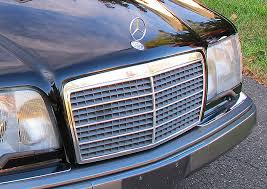 e320 cabriolet grille and ornament 1994 1995 classic cars