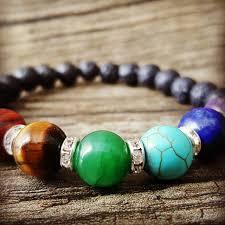 bracelet beaded images Chakra lava stone aromatherapy beaded bracelet essential bracelet jpg