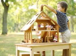 Best Eco Friendly Dollhouses From by Cherry Wood Dollhouse