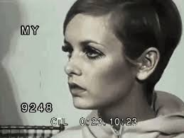 twiggy hairstyle blunt