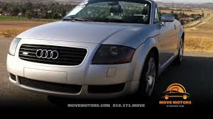 2001 audi tt roadster quattro review and test drive move motors