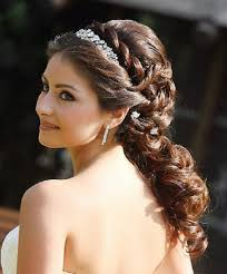 kerala bridal hairstyles for long hair for wedding day latest