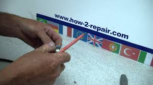 how to wire a new european continental electrical plug youtube